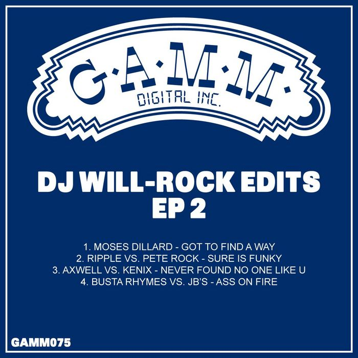 VARIOUS - DJ Will-Rock Edits EP 2