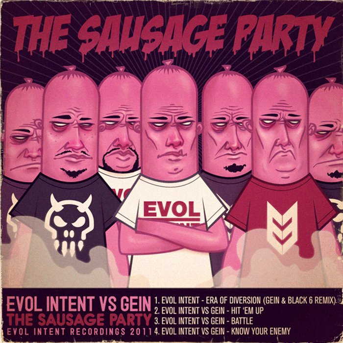 EVOL INTENT vs GEIN - The Sausage Party