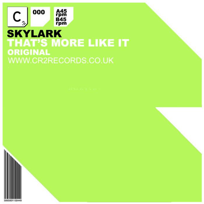 SKYLARK - That's More Like It