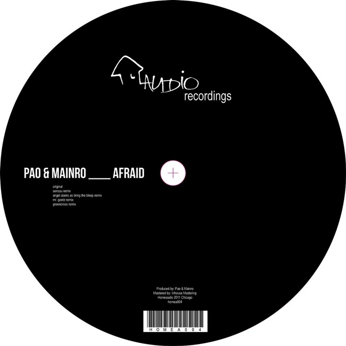 PAO & MAINRO - Afraid EP