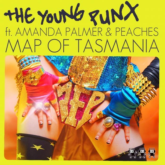 YOUNG PUNX, The feat AMANDA PALMER - Map Of Tasmania