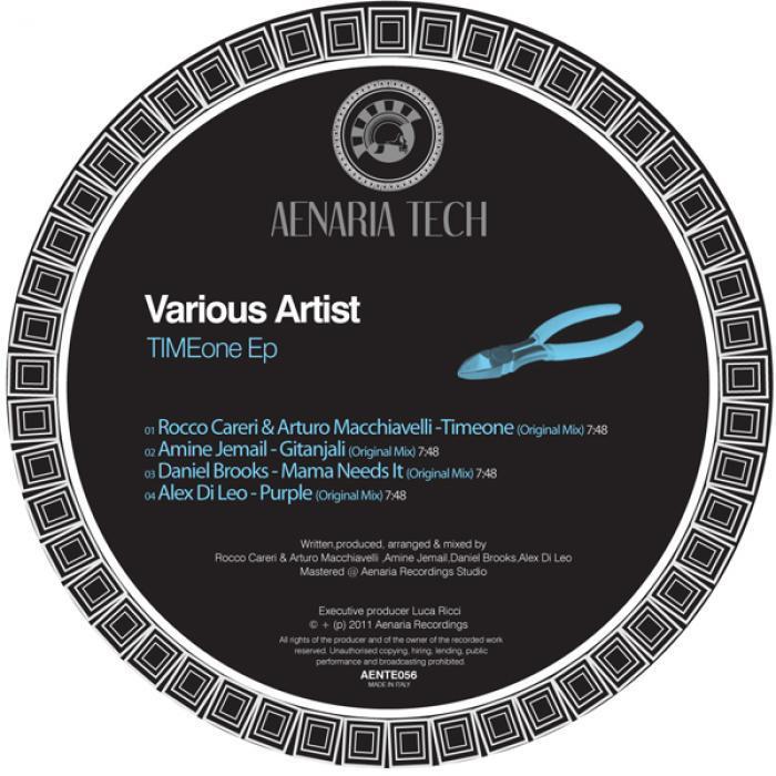 CARERI, Rocco/ARTURO MACCHIAVELLI/AMINE JEMAIL/DANIEL BROOKS/ALEX DI LEO - Timeone EP