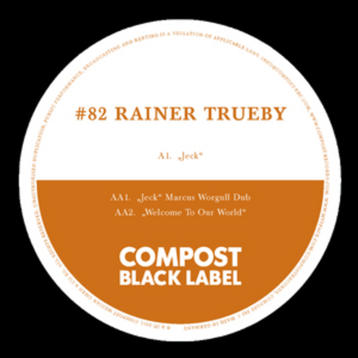 RAINER TRUEBY - Black Label #82
