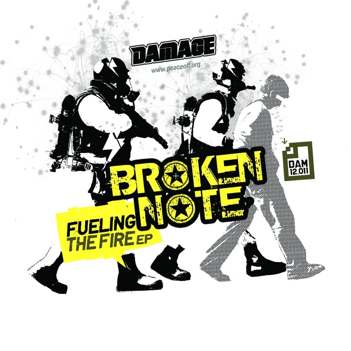 BROKEN NOTE - Fueling The Fire EP