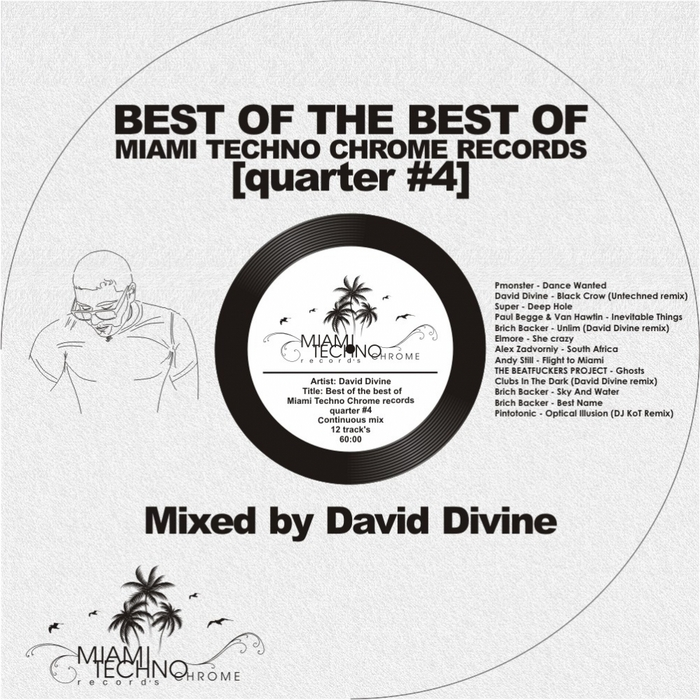 DIVINE, David/VARIOUS - Best Of The Best Quarter #4 (mxed by David Divine) (unmixed tracks)