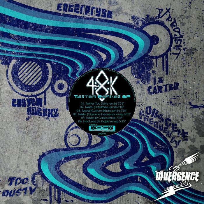 48K - Twister Remixes EP