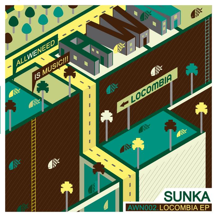 SUNKA - Locombia EP