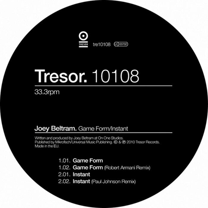 JOEY BELTRAM - Gameform/Instant