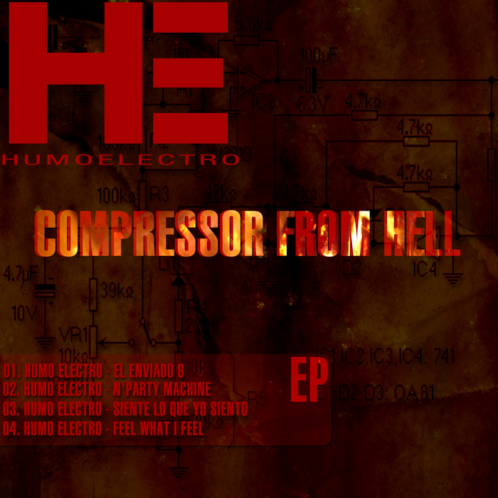 HUMO ELECTRO - Compressor From Hell EP