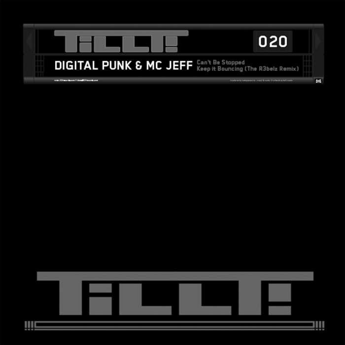 DIGITAL PUNK/MC JEFF - Can't Be Stopped