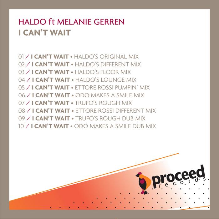 HALDO feat MELANIE GERREN - I Can't Wait