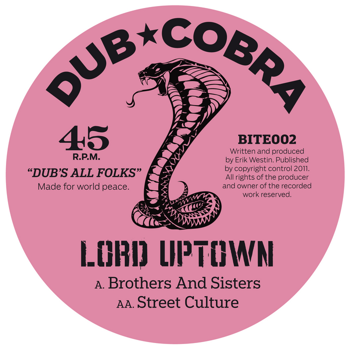 Brothers & Sisters by Lord Uptown on MP3, WAV, FLAC, AIFF