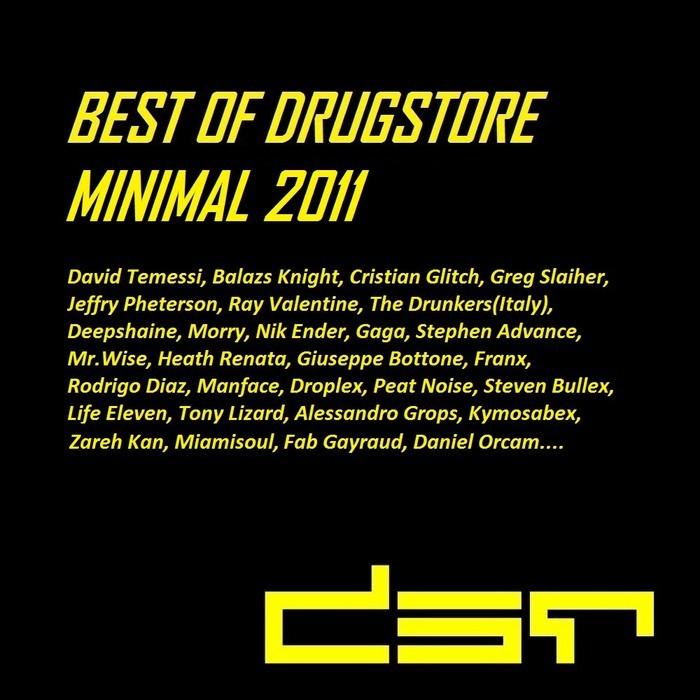 VARIOUS - Best Of Drugstore Minimal 2011