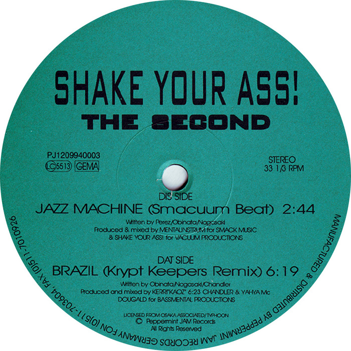SHAKE YOUR ASS - The Second