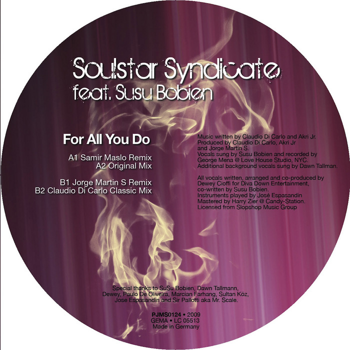 SOULSTAR SYNDICATE feat SUSU BOBIEN - For All You Do