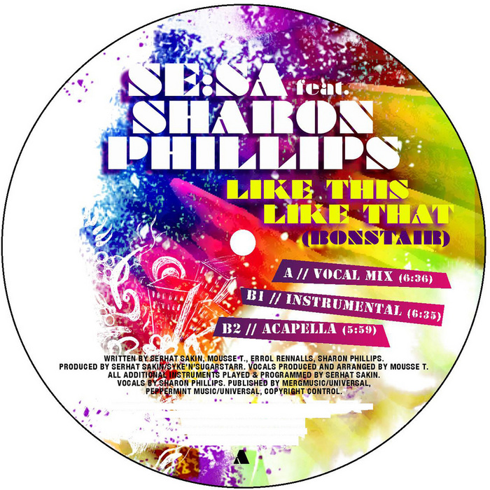 SE SA feat SHARON PHILLIPS - Like This Like That (Bonstair)