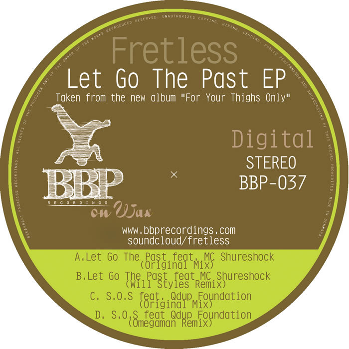 FRETLESS - Let Go The Past EP