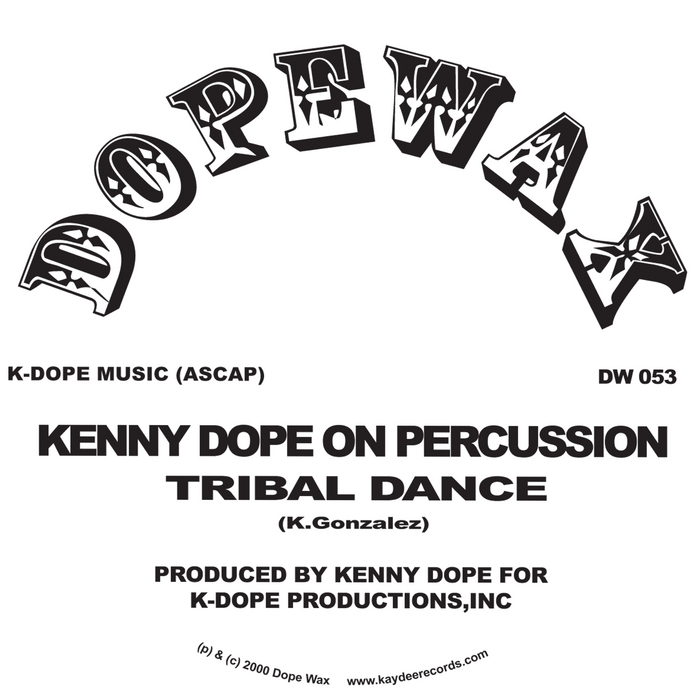 DOPE, Kenny - Buggin On Percussion