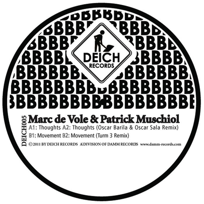 DE VOL, Marc/PATRICK MUSCHIOL - Thoughts