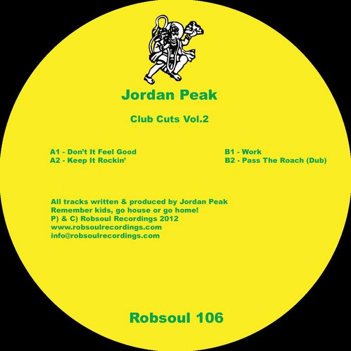 PEAK, Jordan - Club Cuts Vol 2