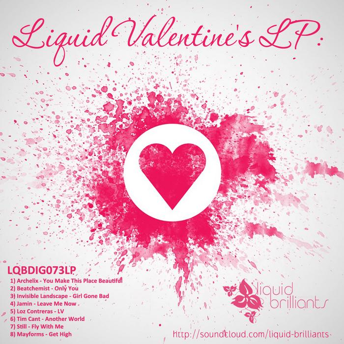 VARIOUS - Liquid Valentine's LP