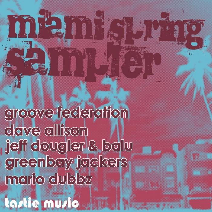 GROOVE FEDERATION/DAVE ALLISON/JEFF DOUGLER & BALU/GREENBAY JACKERS/MARIO DUBBZ - Miami Spring Sampler