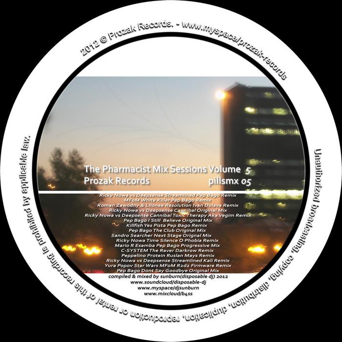 VARIOUS - Prozak Mix Sessions Vol 5 (Unmixed Tracks)