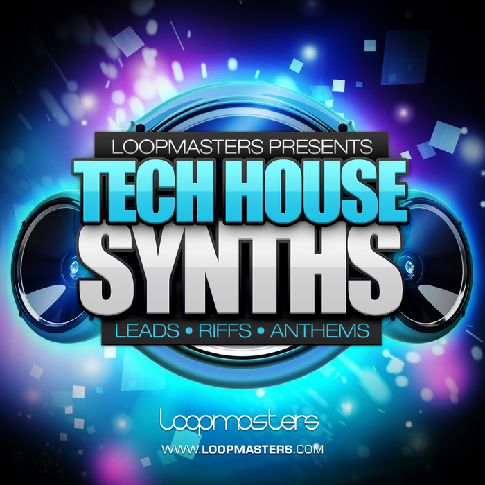 LOOPMASTERS - Tech House Synths (Sample Pack WAV/APPLE/LIVE/REASON)
