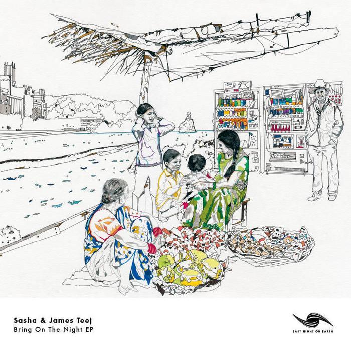 SASHA/JAMES TEEJ - Bring On The Night EP