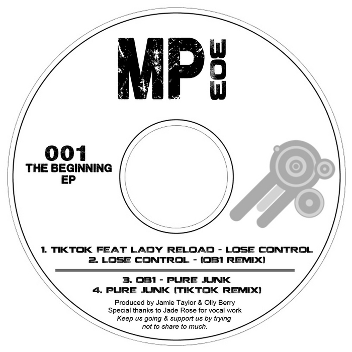 TIK TOK/OB1 feat LADY RELOAD - The Beginning EP