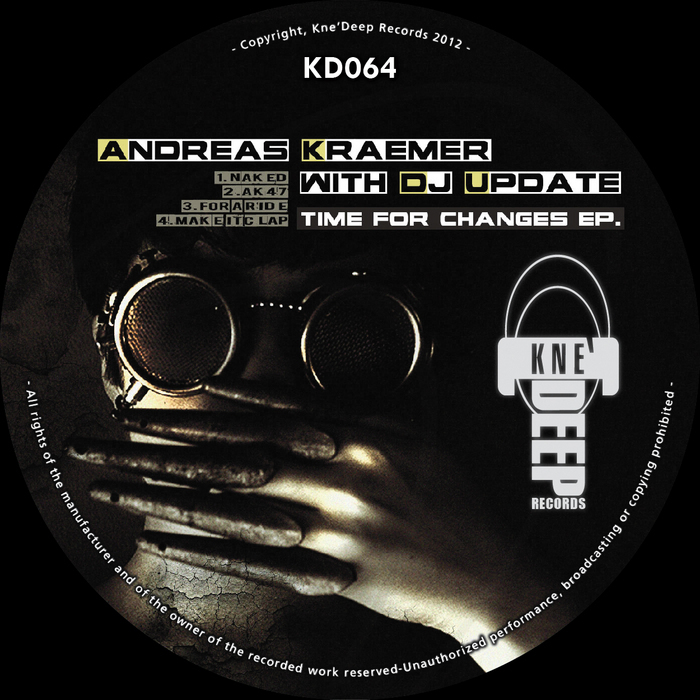KRAEMER, Andreas with DJ UPDATE - Time For Changes