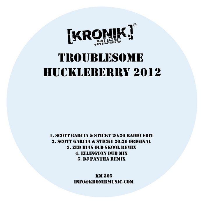 TROUBLESOME - Huckleberry 2012