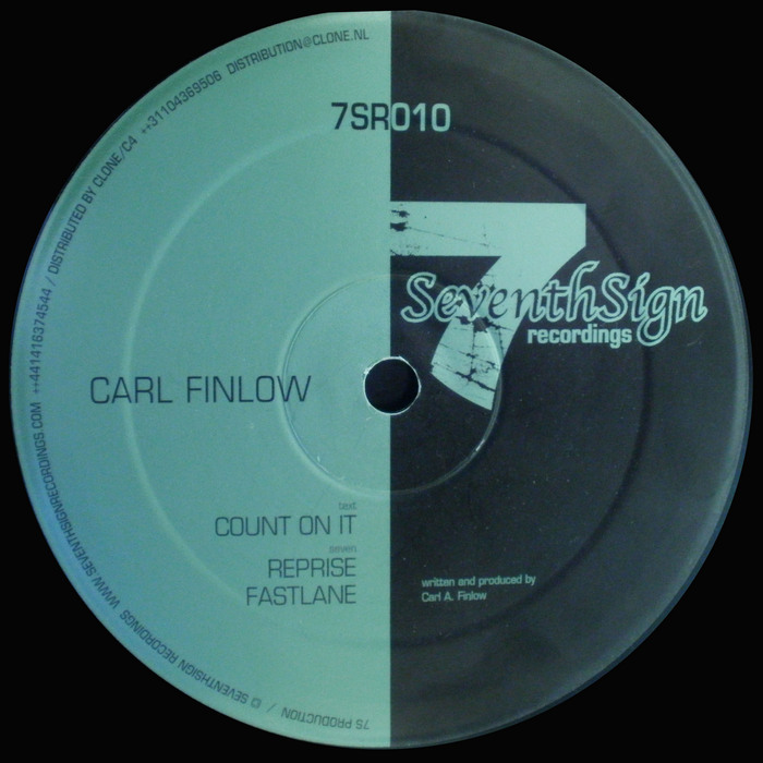 FINLOW, Carl - Count On It