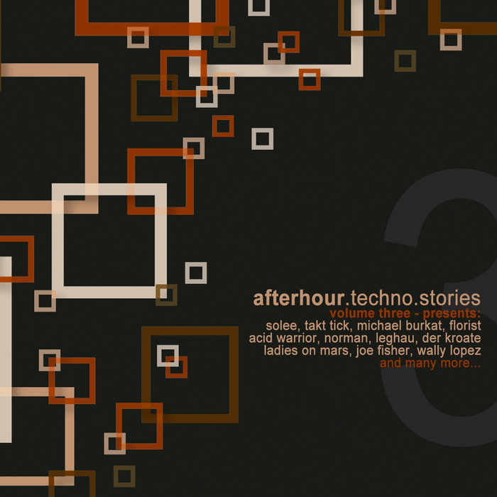 VARIOUS - Afterhour Techno Stories Vol 3