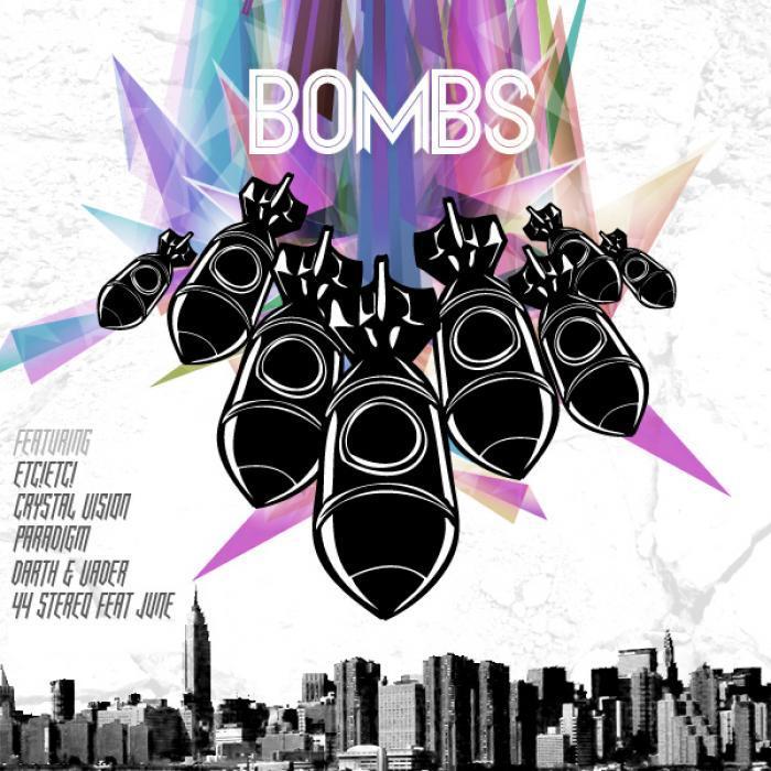 44 STEREO/JUNE/ACETRONIK/KARETUS/ETC!ETC!/CRYSTAL VISION - Bombs