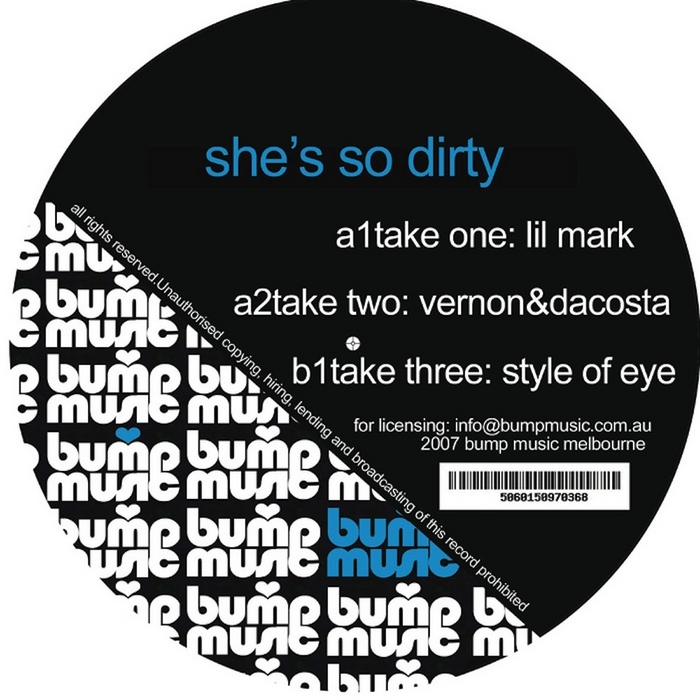 STYLE OF EYE - She's So Dirty