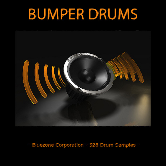 BLUEZONE CORPORATION - Bumper Drums (Sample Pack WAV)