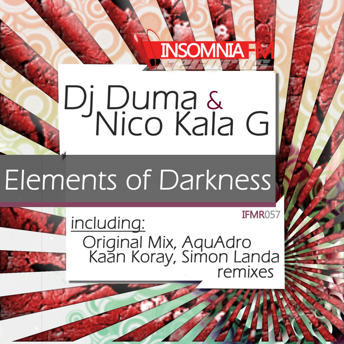 DJ DUMA/NICO KALA G - Elements Of Darkness