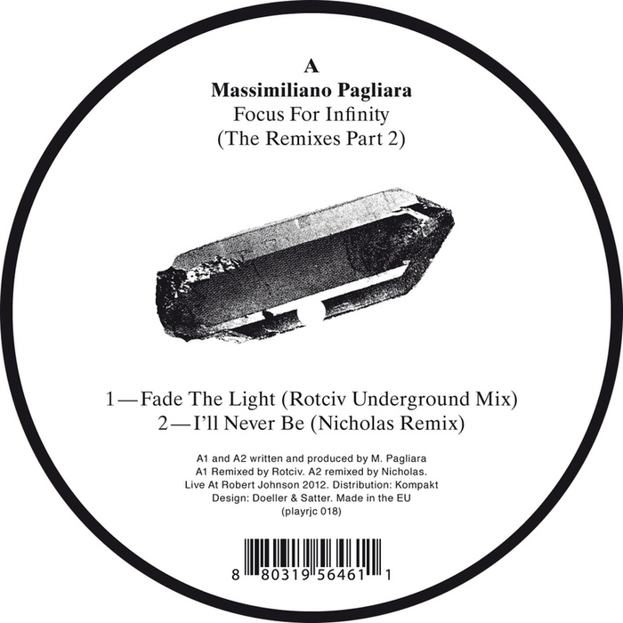 MASSIMILIANO PAGLIARA - Focus For Infinity (The remixes Part 2)