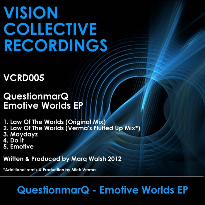 QUESTIONMARQ - Emotive Worlds EP