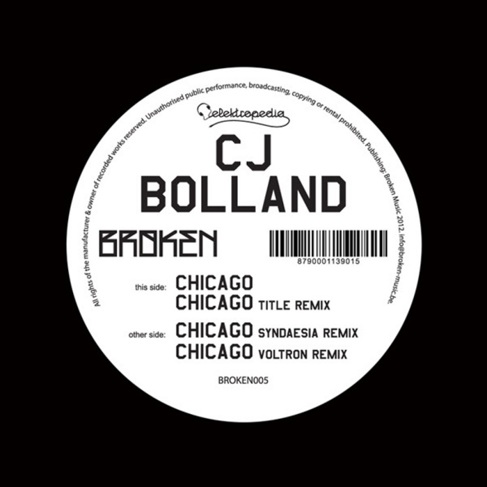 CJ BOLLAND - Chicago