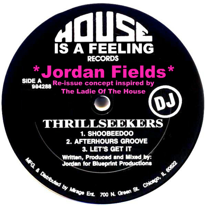 FIELDS, Jordan - Thrillseekers EP From 1993