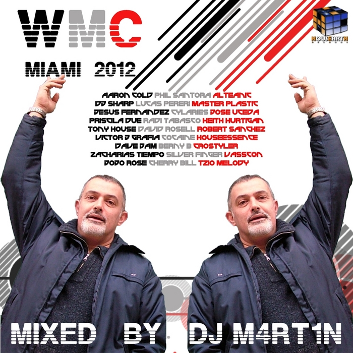 DJ M4RT1N/VARIOUS - Housearth Records WMC Miami 2012 (unmixed tracks)