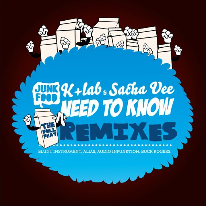 K LAB/SACHA VEE - Need To Know (The Full Phat remixes)