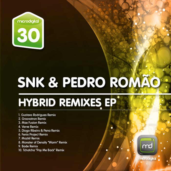 SNK/PEDRO ROMAO - Hybrid (remixes)