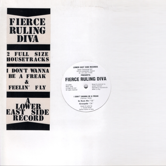 FIERCE RULING DIVA - I Don't Wanna Be A Freak