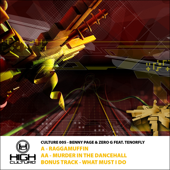 BENNY PAGE/ZERO G feat TENOR FLY - Raggamuffin / Murda In The Dancehall