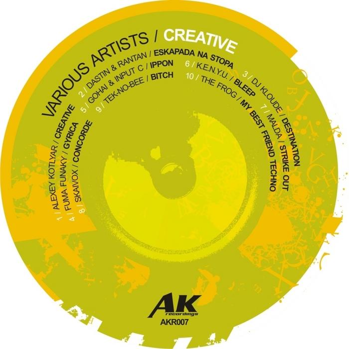 VARIOUS - Creative