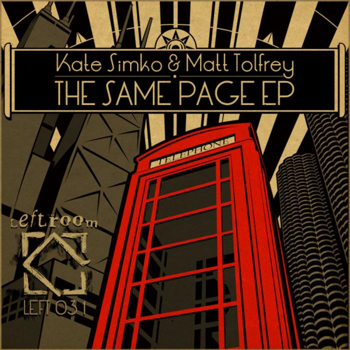 SIMKO, Kate/MATT TOLFREY - The Same Page EP