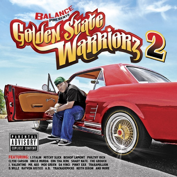 BALANCE/VARIOUS - Golden State Warriorz Vol 2